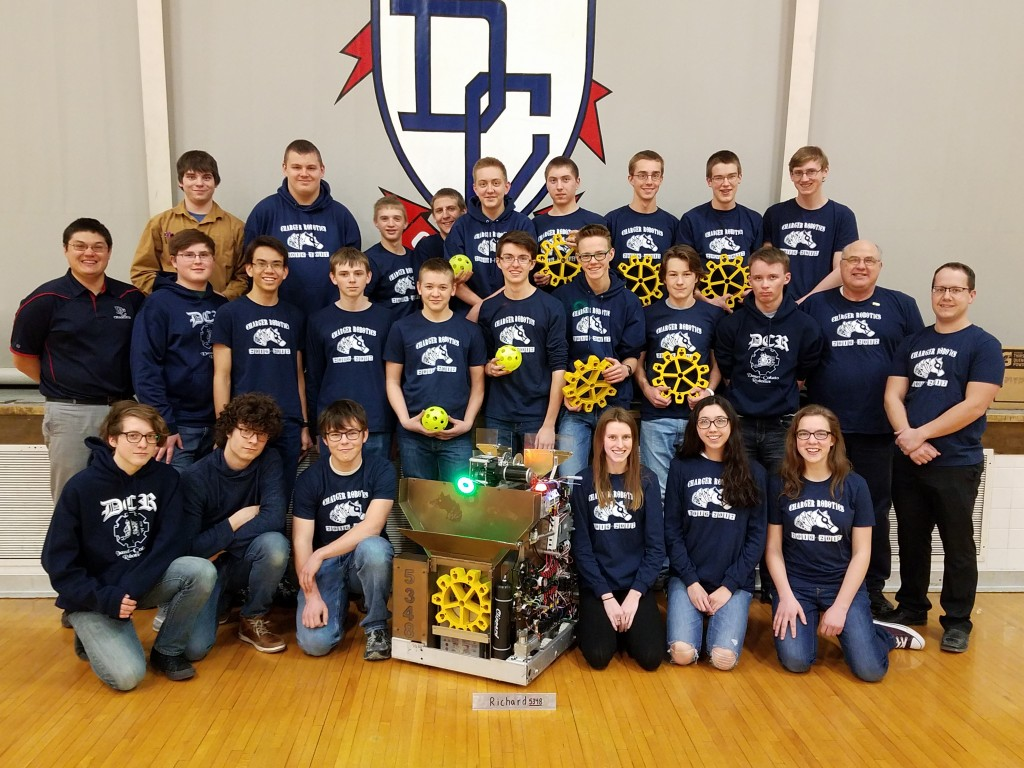 Charger Robotics will be competing with its robot, Richard, at the Northern Lights Regional this weekend. The team designed and built Richard completely from scratch, based upon the season's set objectives.