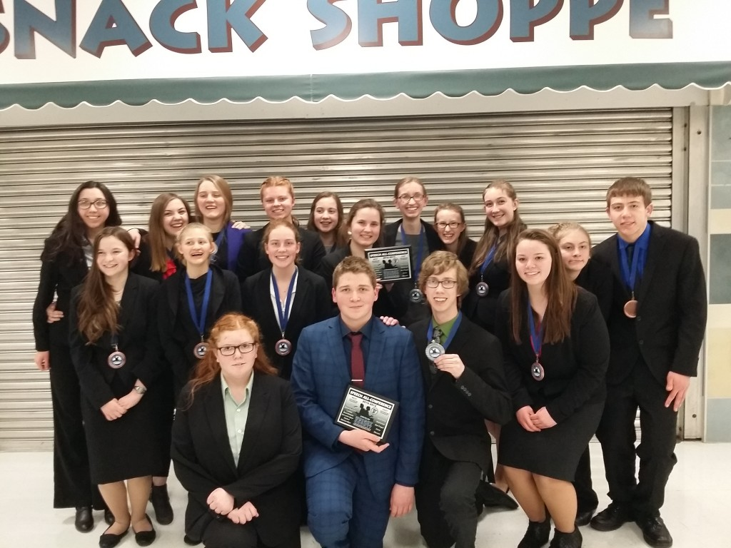 Members of the Chargers speech team at Dassel-Cokato High School competed in the Wright County Conference meet in Orono, and earned second place.