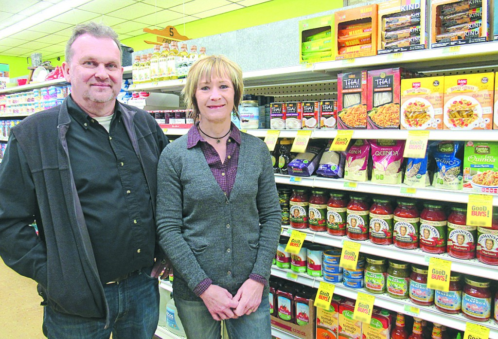 Cam and Mary Ryan are excited to be offering organic, natural, and gluten-free options at Red Rooster Foods in Dassel.