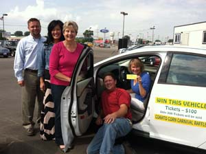 Car and cash drawing winners announced enterprise for Holt motors cokato street west cokato mn