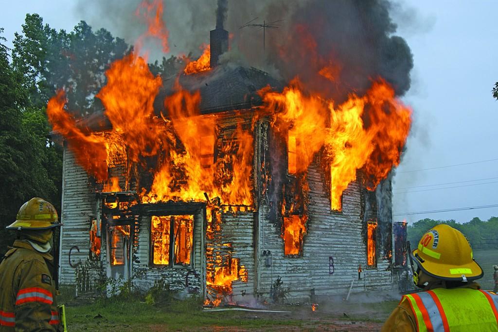 Training burn in Cokato
