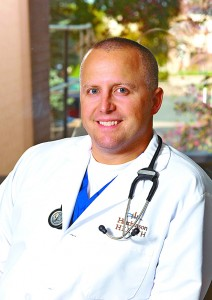 Dr. Noah Retka cares for patients of all ages at Hutchinson Health.