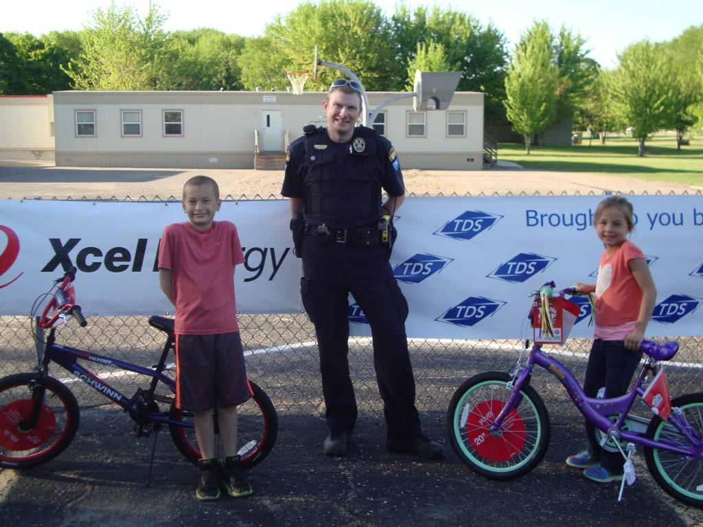 Winsted Elementary bike rodeo winners