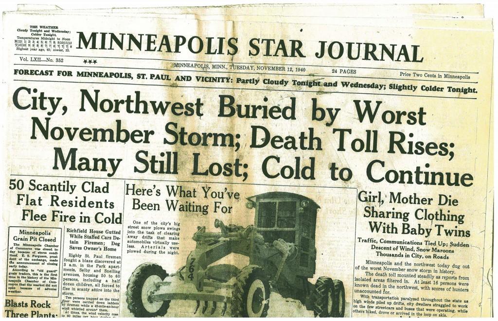 Minneapolis Star Journal - Nov. 11, 1940
