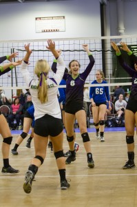 Olivia Tjernagel plays the game with fire as she simply just loves to play the game. Her talent and passion has her on her way to fulfilling her dream to play college volleyball.