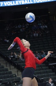Maddy Hucky did it all for Mayer in their Class A semifinal match. She finished with 12 kills and 28 assists to help lead her team back to the state title game for a second-straight season.