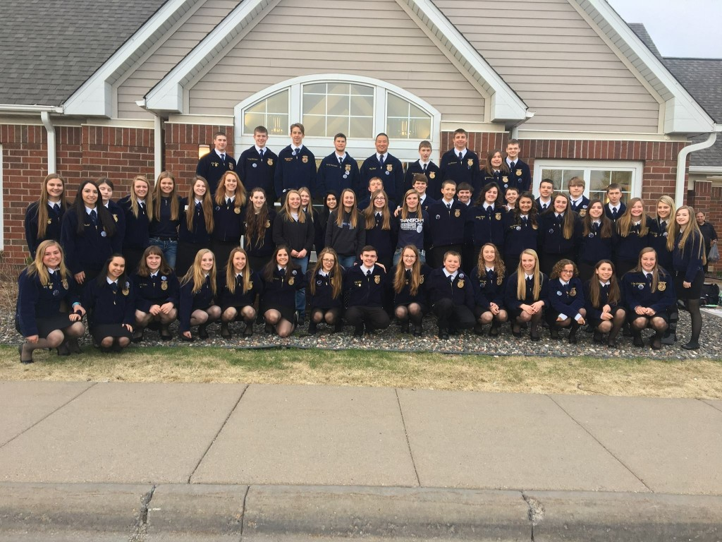 HLWW FFA won big this year at the state convention.