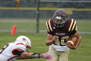 If the Bulldogs want to get to 2-0 on the season, they'll need to get the running game going with Tyler Scheevel. The Bulldogs rushed for just 15 yards in week one.