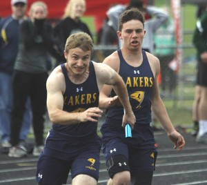 Gavin Kritzeck was back as he helped lead the Lakers to their second Section True Team title in three years.