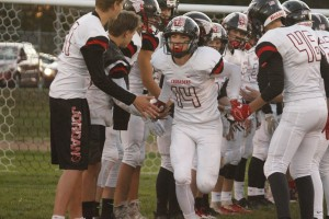 Mitchell Thiesfeld has been a playmaker all season long for the Crusaders. This week, Thiesfeld and the Crusaders will face their toughest task as they host No. 4 Blooming Prairie.