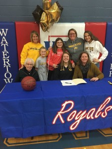 Surrounded by her family, Monika Czinano made her dream a reality as she officially signed to play basketball at the University of Iowa back in November.