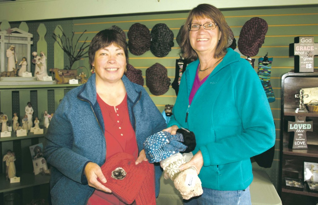 The Prairie Gift Shop employee Jill Duncan and co-owner Judy Angvall are ready to help customers find just the right items for everyone on their holiday gift list.