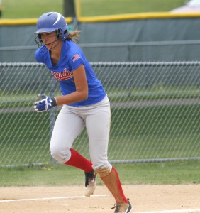 Janessa Berrios had two hits and scored two runs to lead the Royals to a big win in the fist round of the Section 5AA tournament,