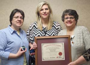 Hutchinson Health's diabetic educators include registered nurse Colleen Bonniwell, registered nurse  Holly Oestreich, and registered dietitian Lynn Marcus.