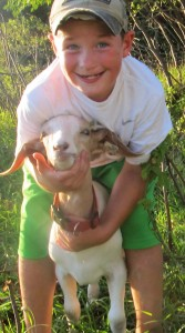 Timothy Quast, 9, is a 4-H Cloverbud with the Winsted Jolly Juniors.
