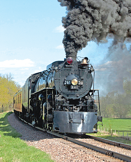 A passenger train will make its way through Howard Lake Sunday, Oct. 11 on its way to Willmar.