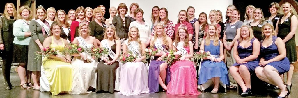 Wright County Dairy Princesses